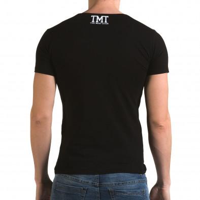 Tricou bărbați Glamsky negru il120216-61 3