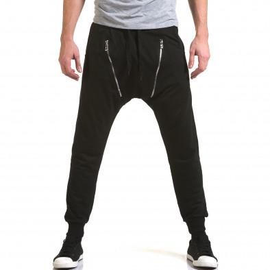 Pantaloni baggy bărbați Belmode negri it090216-46 2