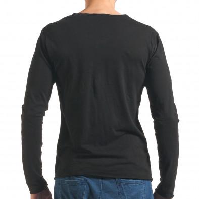 Bluză bărbați Man neagră it260416-49 3