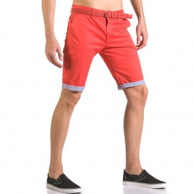 Pantaloni scurți bărbați Baci & Dolce roșii ca050416-55 4