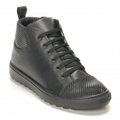 Teniși bărbați Shoes in Progress negri it141016-2 3