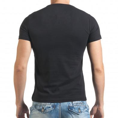 Tricou bărbați Just Relax negru il140416-23 3