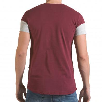 Tricou bărbați Click Bomb roșu il170216-75 3