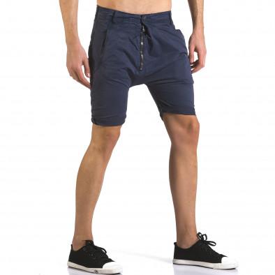 Pantaloni scurți bărbați Always Jeans albaștri it110316-36 4