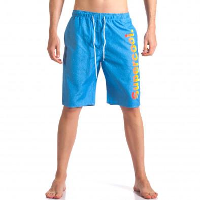 Costume de baie bărbați Austar Jeans albastru it250416-44 2