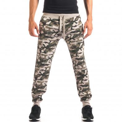 Pantaloni bărbați New Mentality camuflaj it160816-3 4