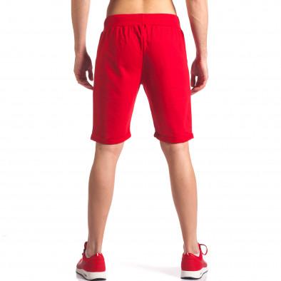 Pantaloni scurți bărbați New Men roșii it260416-22 3
