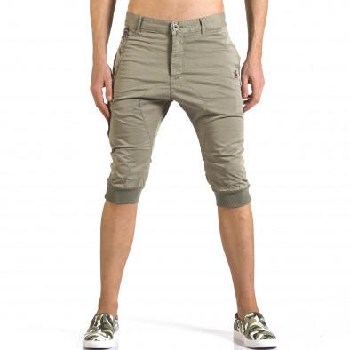 Pantaloni scurți bărbați TMK verzi it110316-52 2