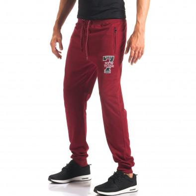 Pantaloni sport bărbați Top Star roșu it160816-32 4