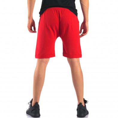 Pantaloni scurți bărbați Black Fox roșii it160616-14 3