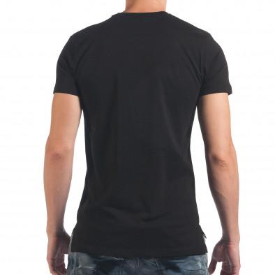Tricou bărbați SAW negru il060616-33 3