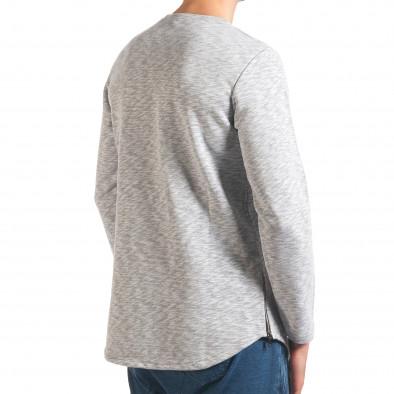 Bluză bărbați Uniplay gri it250416-84 3