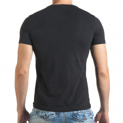 Tricou bărbați Just Relax negru il140416-34 3