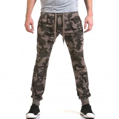 Pantaloni baggy bărbați Belmode camuflaj it090216-47 2