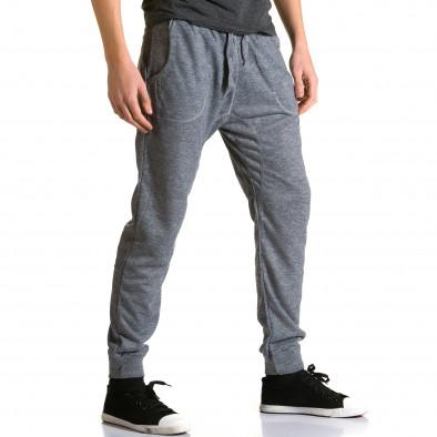 Pantaloni baggy bărbați Dress&GO gri ca190116-28 4