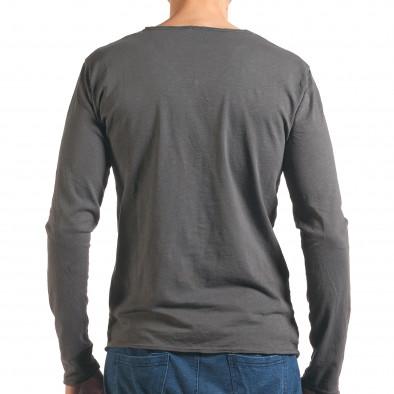 Bluză bărbați Man gri it260416-50 3