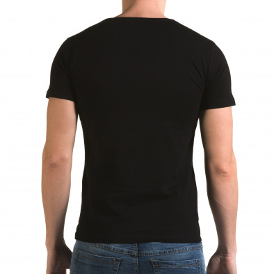 Tricou bărbați Lagos negru il120216-25 3