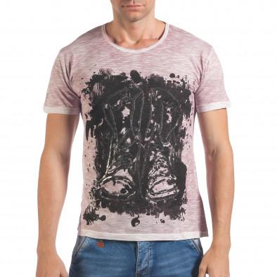 Tricou bărbați Lagos roz il060616-47 2