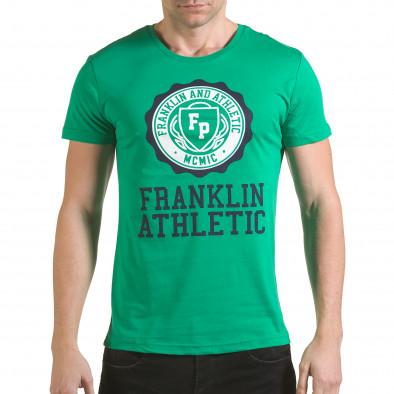 Tricou bărbați Franklin verde il170216-9 2