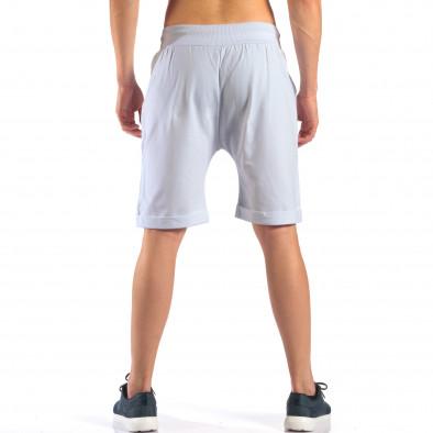 Pantaloni scurți bărbați Black Fox albi it160616-13 3