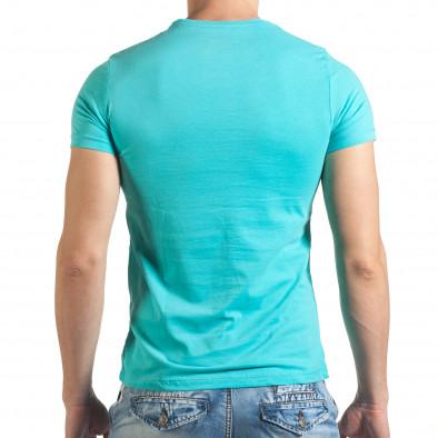 Tricou bărbați Just Relax albastru il140416-43 3