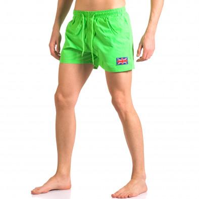 Costume de baie bărbați Bitti Jeans verde ca050416-8 4