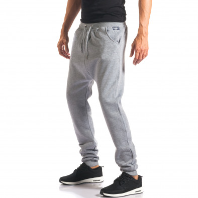 Pantaloni baggy bărbați Marshall gri it160816-22 4