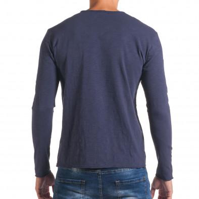 Bluză bărbați Y-Two albastră it180816-4 3