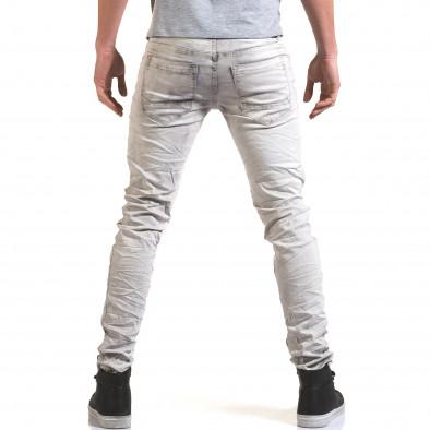 Pantaloni bărbați Leeyo Jeans gri it090216-22 3