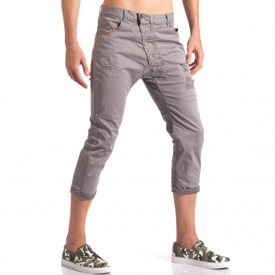 Pantaloni bărbați TMK gri it250416-27 4