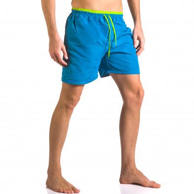 Costume de baie bărbați Yaliishi albastru ca050416-24 4