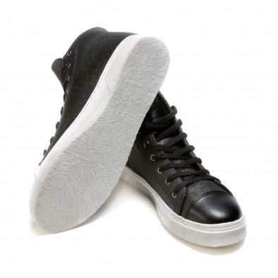 Pantofi sport bărbați Niadi negri it100915-5 4