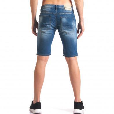 Blugi scurți bărbați Yan's Jeans albaștri it250416-33 3