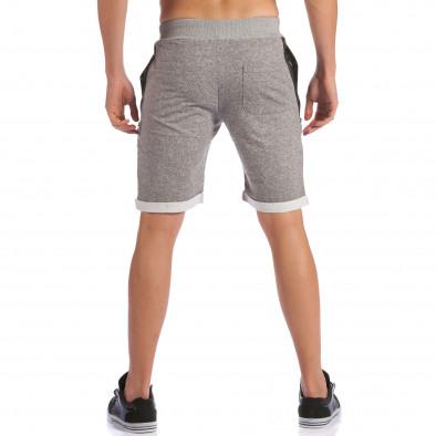 Pantaloni scurți bărbați Belman gri ca100615-19 3