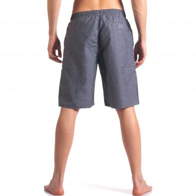 Costume de baie bărbați Austar Jeans gri it250416-43 3