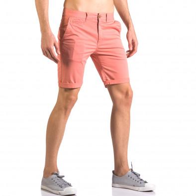 Pantaloni scurți bărbați XZX-Star roșii ca050416-60 4