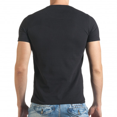 Tricou bărbați Just Relax negru il140416-30 3