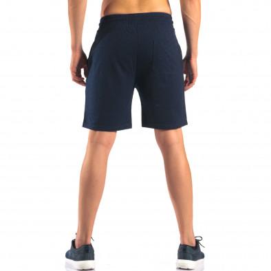 Pantaloni scurți bărbați Marshall albaștri it160616-3 3