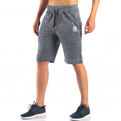 Pantaloni scurți bărbați Marshall gri it160616-1 4