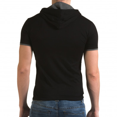 Tricou bărbați Lagos negru il120216-60 3