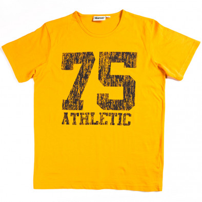 Tricou bărbați Marcus galben 070213-5 2