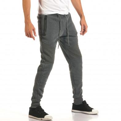 Pantaloni bărbați Top Star gri it191016-3 4