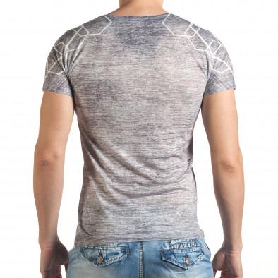 Tricou bărbați Lagos gri il140416-65 3