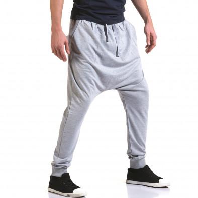 Pantaloni baggy bărbați Dress&GO gri it090216-34 4
