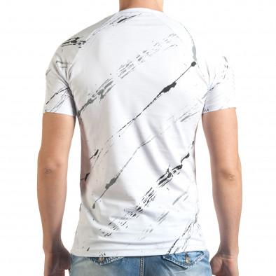Tricou bărbați Eksi alb il140416-1 3