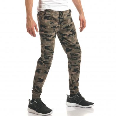 Pantaloni bărbați Enos camuflaj it140317-48 4