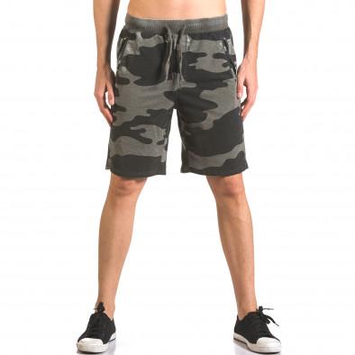 Pantaloni scurți bărbați Top Star camuflaj ca050416-46 2