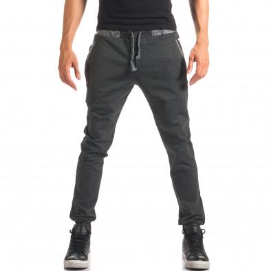 Pantaloni bărbați Jack Berry gri it150816-20 2