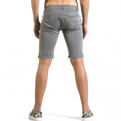 Pantaloni scurți bărbați Bruno Leoni gri it110316-50 3