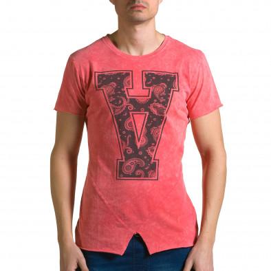 Tricou bărbați Adrexx roșu ca190116-47 2